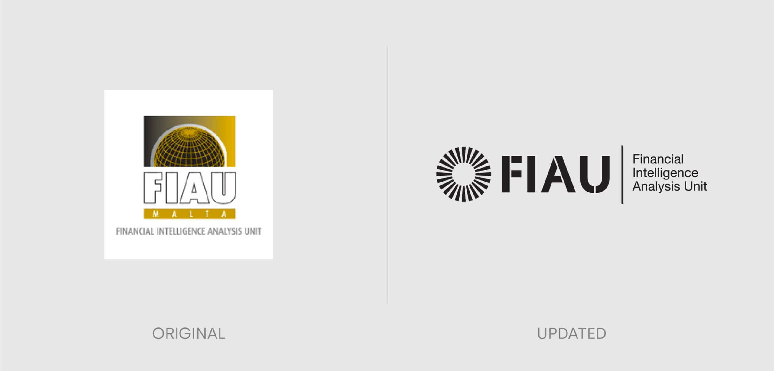 FIAU Case Study logo comparison