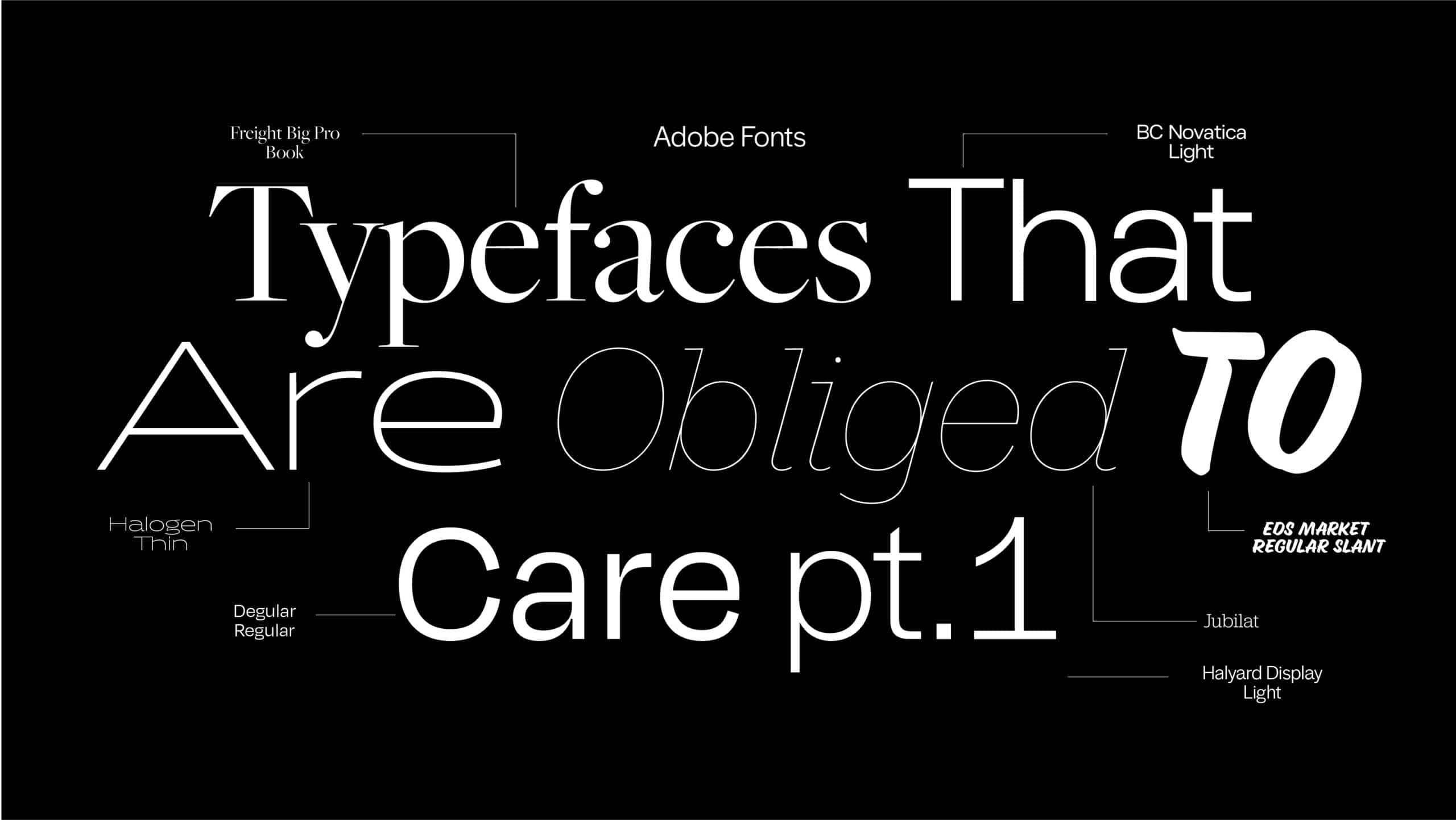 Top Adobe Fonts banner